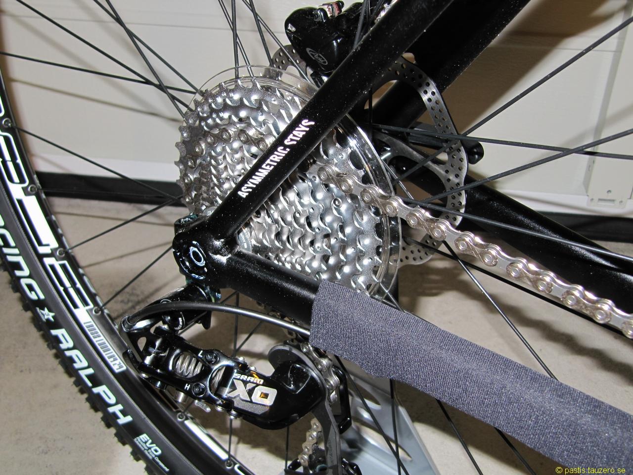 nytt bakhjul cykel