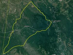 Från Google Earth...