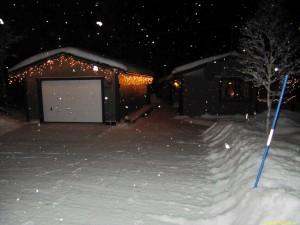 Och snön faller fortfarande...