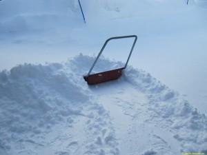 Blåser för mycket för snöslungan...