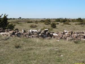 Stenmur på allvaret